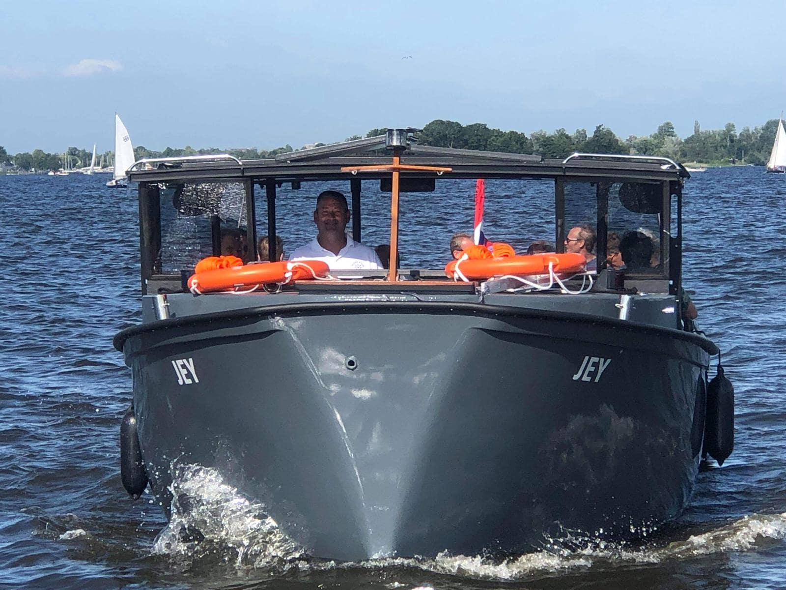 E-Chopper rijden in Loosdrecht